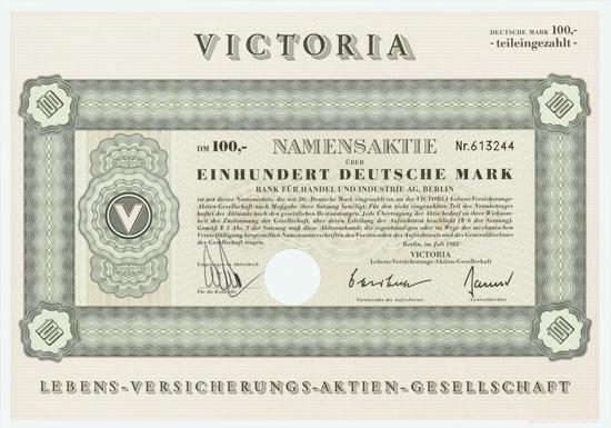 Victoria Lebens-Versicherungs-AG