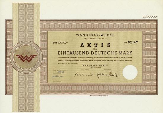 Wanderer-Werke AG