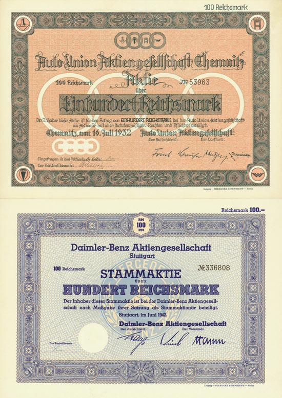 Deutsche Automobile [4 Stück]