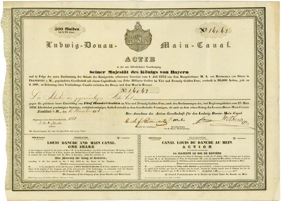 21. Auktion für Historische Wertpapiere