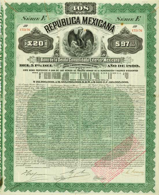 República Mexicana [2 Stück]