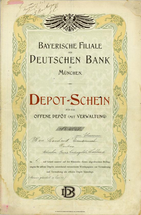 Hwph Ag Historische Wertpapiere Deutsche Bank