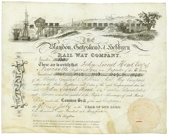 Blaydon, Gateshead & Hebburn Rail Way Company