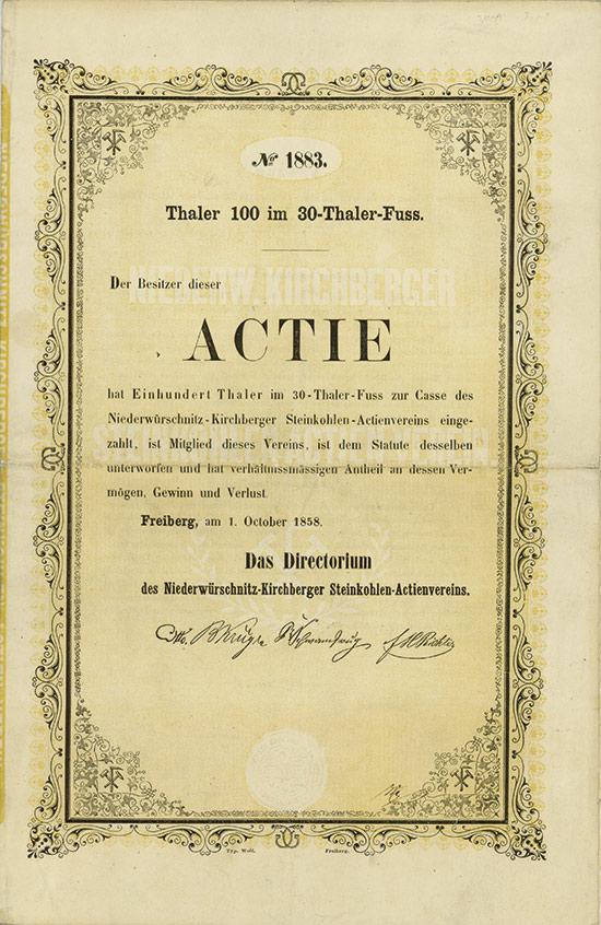 Niederwürschnitz-Kirchberger Steinkohlen-Actienverein