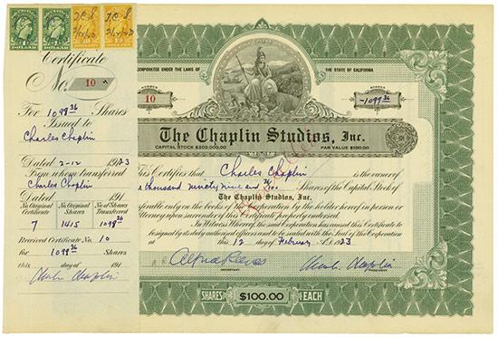 27. Auktion für Historische Wertpapiere