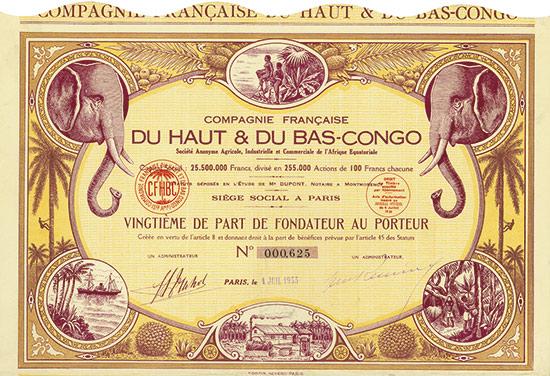 Compagnie Française du Haut & Du Bas-Congo