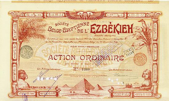 Société Belge-Egyptienne de l'Ezbékieh Société Anonyme