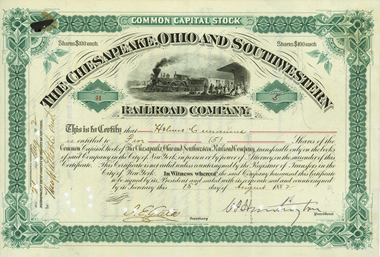 Chesapeake, Ohio and Southwestern Railroad Company