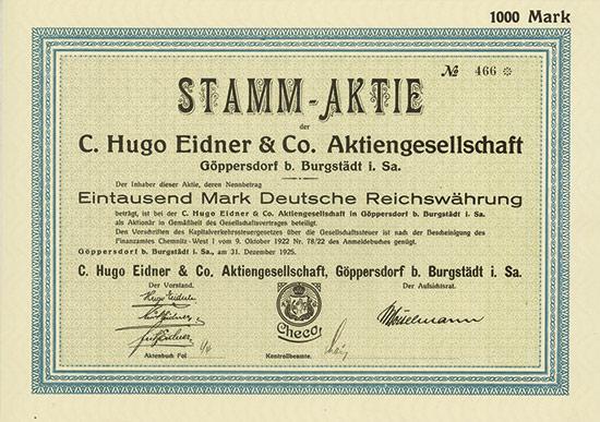 C. Hugo Eidner & Co. AG