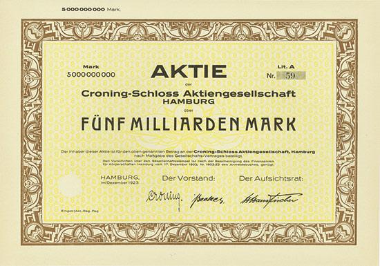 Croning-Schloss AG
