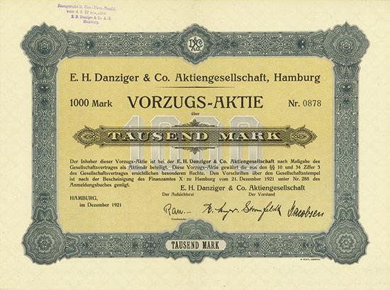 E. H. Danziger & Co. AG