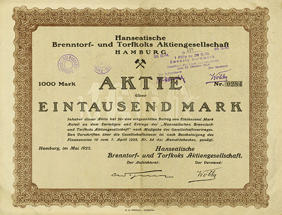 Hanseatische Brenntorf- und Torfkoks AG