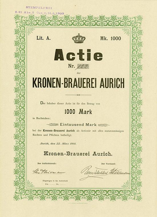 Kronen-Brauerei Aurich