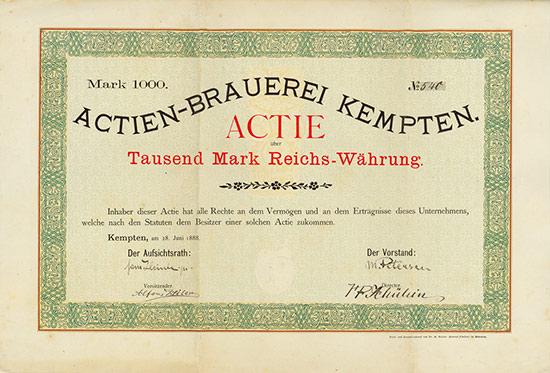 Actien-Brauerei Kempten