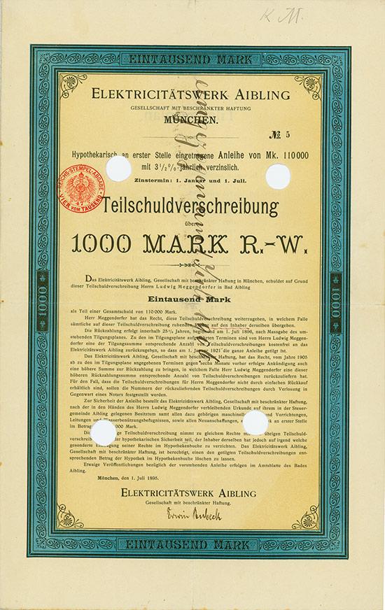 Elektricitätswerk Aibling GmbH
