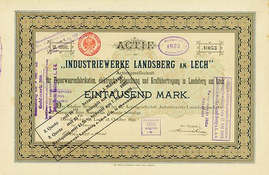 Industriewerke Landsberg am Lech