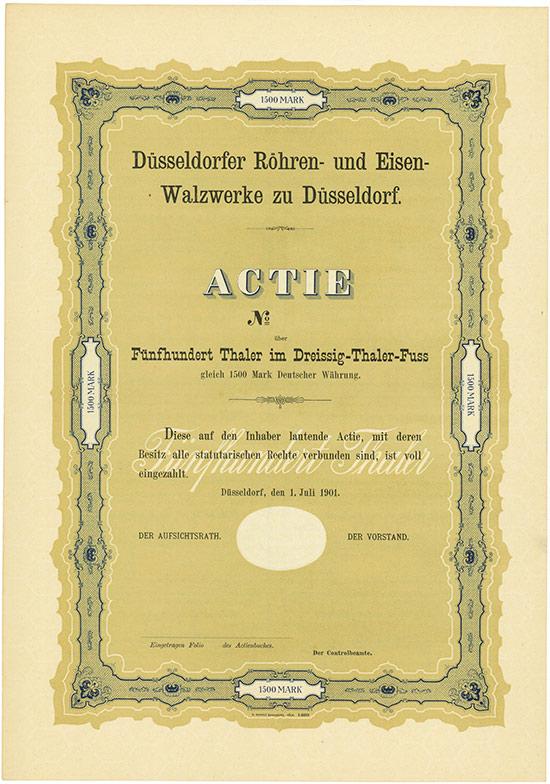 Düsseldorfer Röhren- und Eisen-Walzwerke zu Düsseldorf