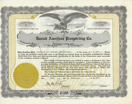 Danish American Prospecting Co.