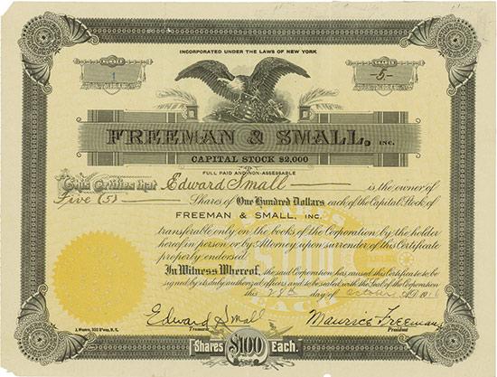 Freeman & Small, Inc.