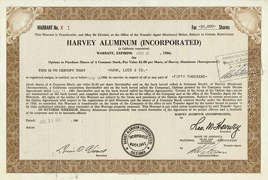 Harvey Aluminium (Incorporated)