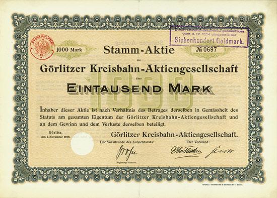 Görlitzer Kreisbahn-AG