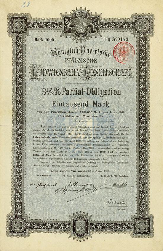 Königlich Bayerische Pfälzische Ludwigsbahn-Gesellschaft