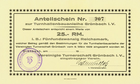 Vereinigte Turnerschaft Grünbach i.V.