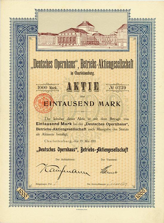 Deutsches Opernhaus