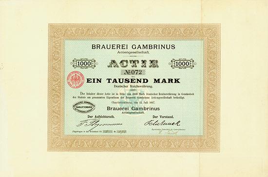 Brauerei Gambrinus AG
