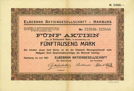 Elbebank AG