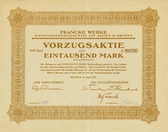 Francke Werke KGaA
