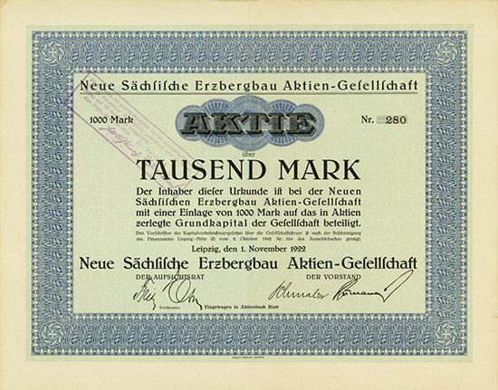 Neue Sächsische Erzbergbau AG
