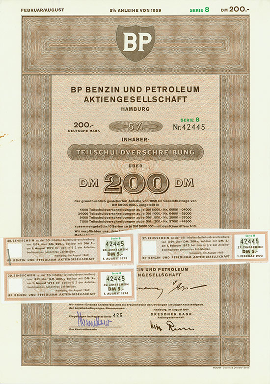 BP Benzin und Petroleum AG