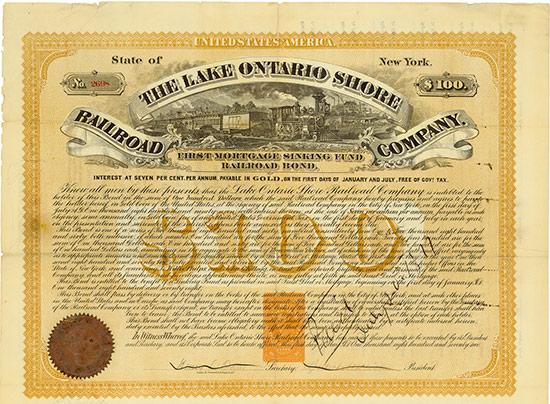 Lake Ontario Shore Railroad Company