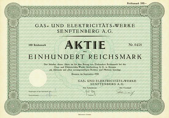 Gas- und Elektricitäts-Werke Senftenberg AG