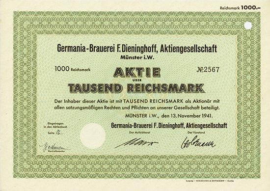 Germania-Brauerei F. Dieninghoff AG