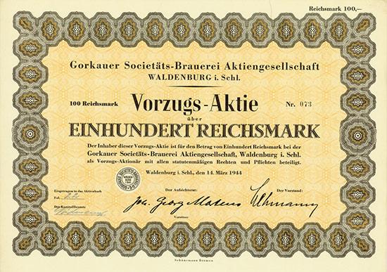 Gorkauer Societäts-Brauerei AG
