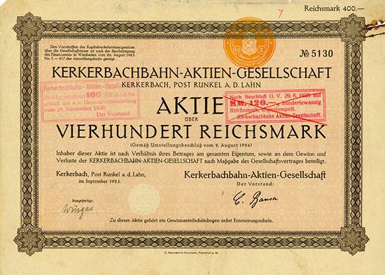 Kerkerbachbahn-AG