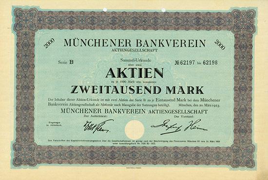 Münchener Bankverein AG