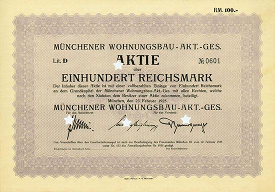 Münchener Wohnungsbau-AG