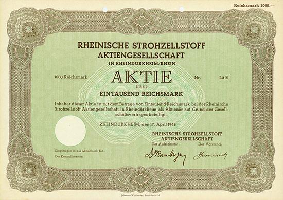 Rheinische Strohzellstoff AG