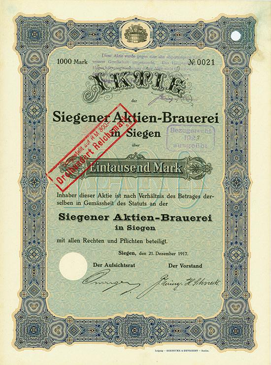 Siegener Aktien-Brauerei