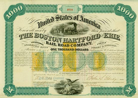 US-Eisenbahn-Anleihen [7 Stück]