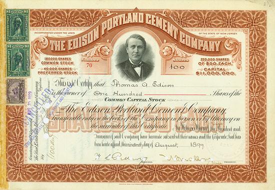 Edison Portland Cement Company