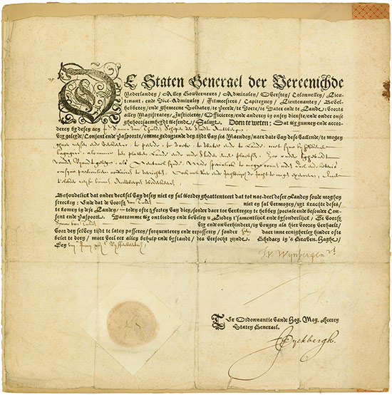 Staten General der Vereenichde Nederlanden