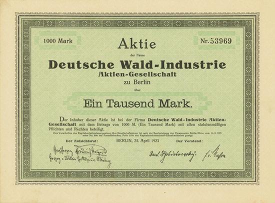 Deutsche Wald-Industrie AG