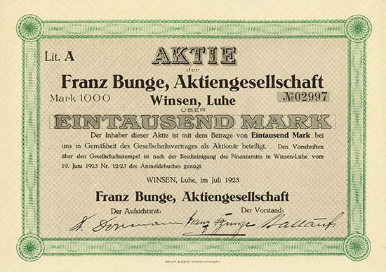 Franz Bunge AG