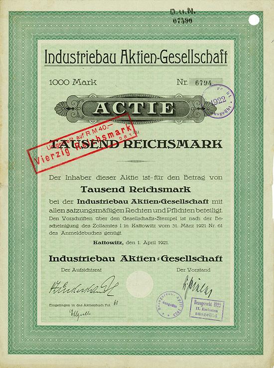 Industriebau AG