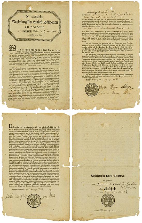 Magdeburgische Landes-Obligation