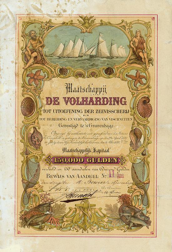 Maatschappij de Volharding tot Uitoefening der Zeevisscherij en tot Bereiding en Vervaardiging van Vischnetten